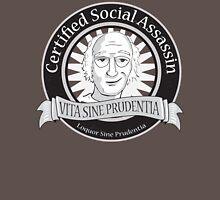 Certified Social Assassin Unisex T-Shirt