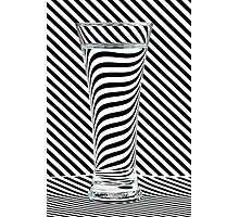 Striped Water Photographic Print