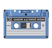 Vintage Music Cassette Tape by NetoboDesigns