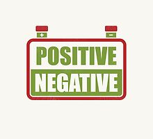 Positive Negative by wordquirk