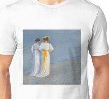 Anna Ancher and Marie Krøyer on the beach - Krøyer Unisex T-Shirt