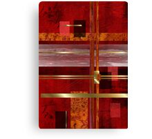 Red & Gold Delight Canvas Print