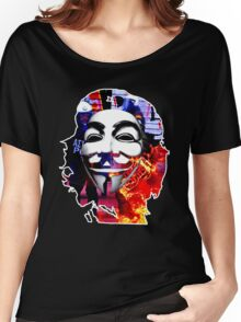 Anonymous Che Guevarra Women's Relaxed Fit T-Shirt