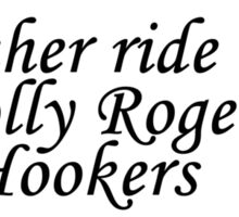 Hookers Sticker