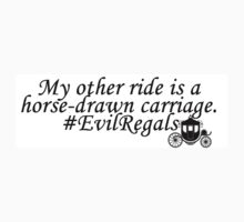 Evil Regals Sticker by colorfulmoniker