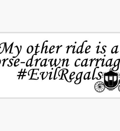 Evil Regals Sticker Sticker