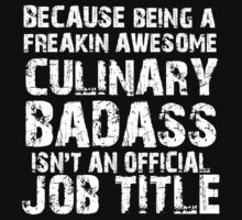 Badass Chef T-shirt by musthavetshirts