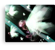 Majestically out of the Void Canvas Print