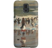 Beach Scene - Winslow Homer Samsung Galaxy Case/Skin