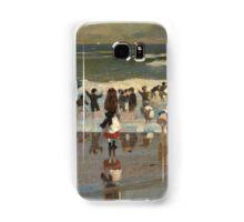 Beach Scene - Winslow Homer Samsung Galaxy Case/Skin