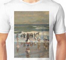 Beach Scene - Winslow Homer Unisex T-Shirt