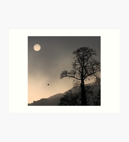 Sunrise Haiku Art Print
