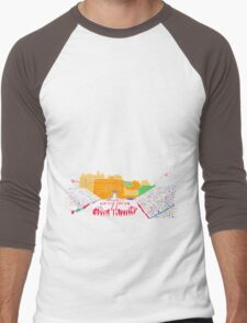 Edinburgh Military Tattoo Men's Baseball ¾ T-Shirt