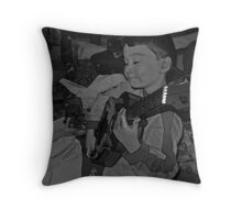 Just What I Wanted (Black & White) Throw Pillow