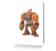 AKUMA BOT Greeting Card