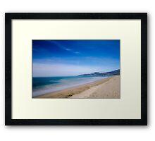 Riviera - Italy Framed Print