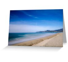 Riviera - Italy Greeting Card