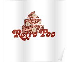 Retro Poo Poster