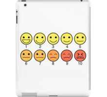 1 to 10 iPad Case/Skin