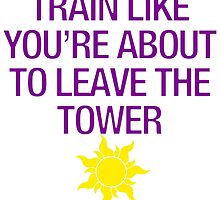 Tangled Tower Work Out by colorfulmoniker