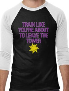 Tangled Tower Work Out Men's Baseball ¾ T-Shirt