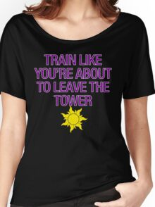 Tangled Tower Work Out Women's Relaxed Fit T-Shirt