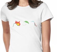 Johto Starters Womens Fitted T-Shirt