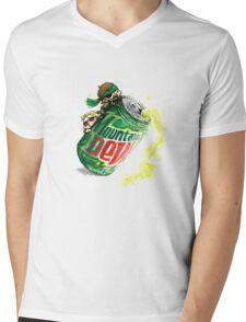 Snake & Miller on a... mountain dew. Mens V-Neck T-Shirt