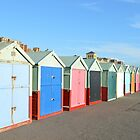 Brighton & Hove Huts by mike  jordan.