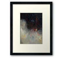 abstract 05081 Framed Print