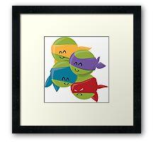 Turtle Cuties Framed Print