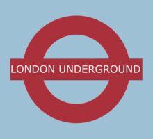 london underground sign Kids Clothes