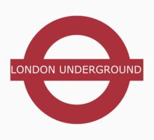 london underground sign Kids Tee