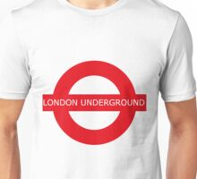 london underground sign Unisex T-Shirt