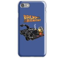 Back To The Banana v2 iPhone Case/Skin