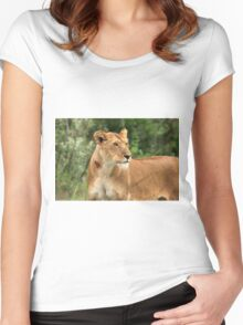 Proud Lioness Women's Fitted Scoop T-Shirt
