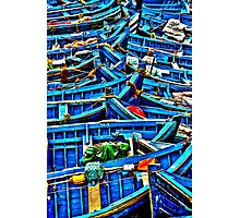 Sea of Boats Photographic Print