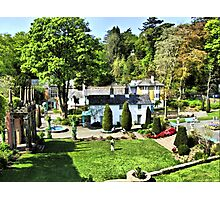 Portmeirion HDR Photographic Print