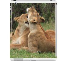 Lions On The Masai Mara iPad Case/Skin