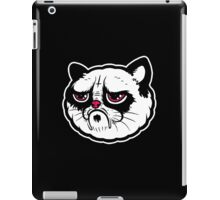 Black and white cat with the hump  iPad Case/Skin