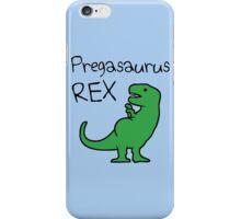 Pregasaurus Rex iPhone Case/Skin
