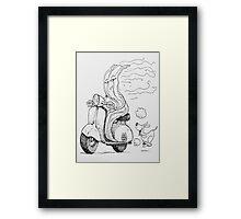 The Smell of Bacon Framed Print
