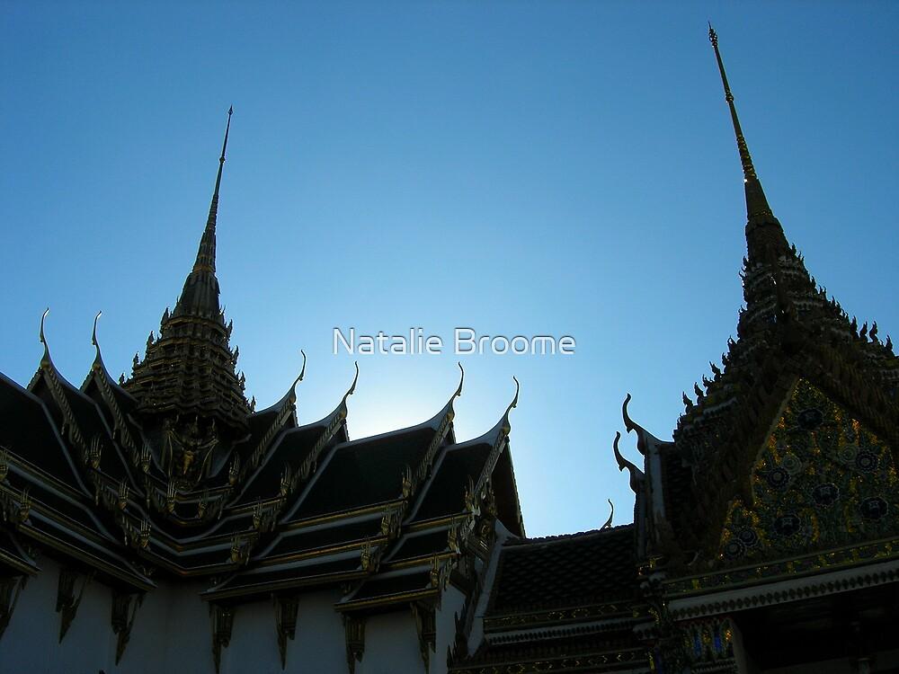 Bangkok Temples by Natalie Broome