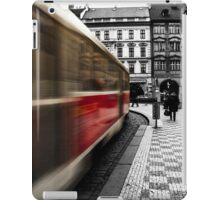 City Tram in Prague  iPad Case/Skin