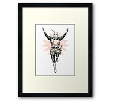 Praise the sun! Framed Print