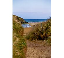 Looking Through The Dunes ... Photographic Print