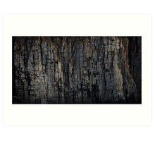 The Rock That Split Gondwana Art Print