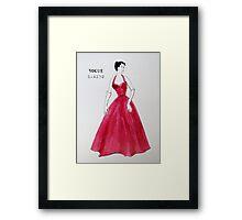 Vogue 1950s Framed Print