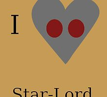 I Heart Star-Lord by GeekyToGo