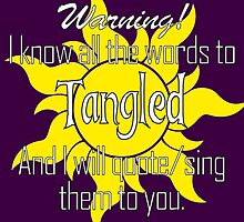 All the Words to Tangled (Dark) by colorfulmoniker